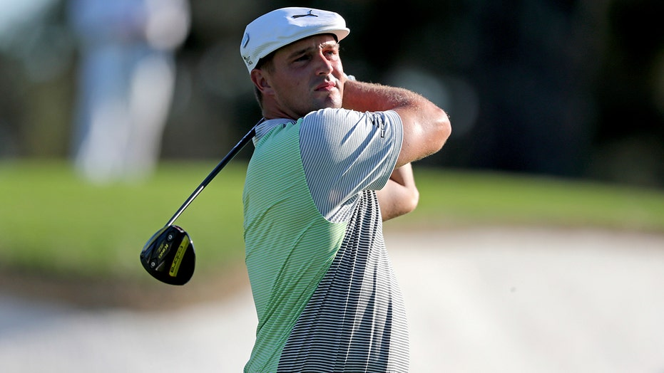 DeChambeau ailing after barely making the cut at Masters