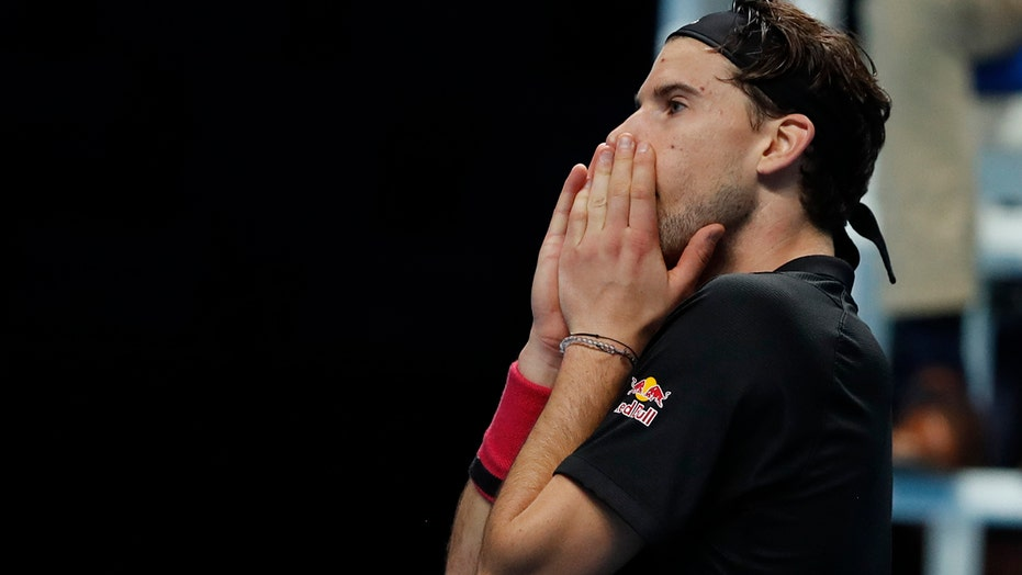 'Tight and nervous,' Thiem tops No. 1 Djokovic at ATP Finals
