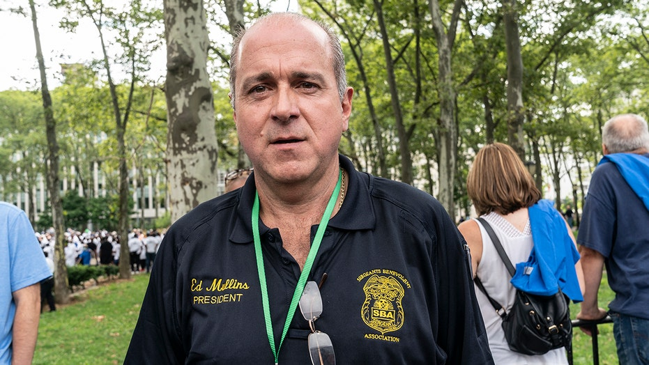NYPD union head resigns after FBI raid on headquarters, home