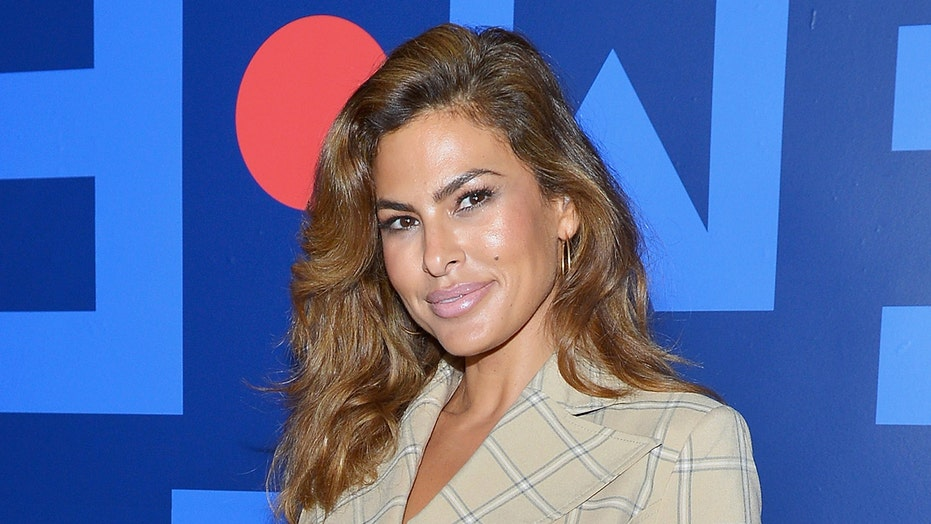 Eva Mendes shares photo of herself 'being tortured' while receiving mono-thread treatment