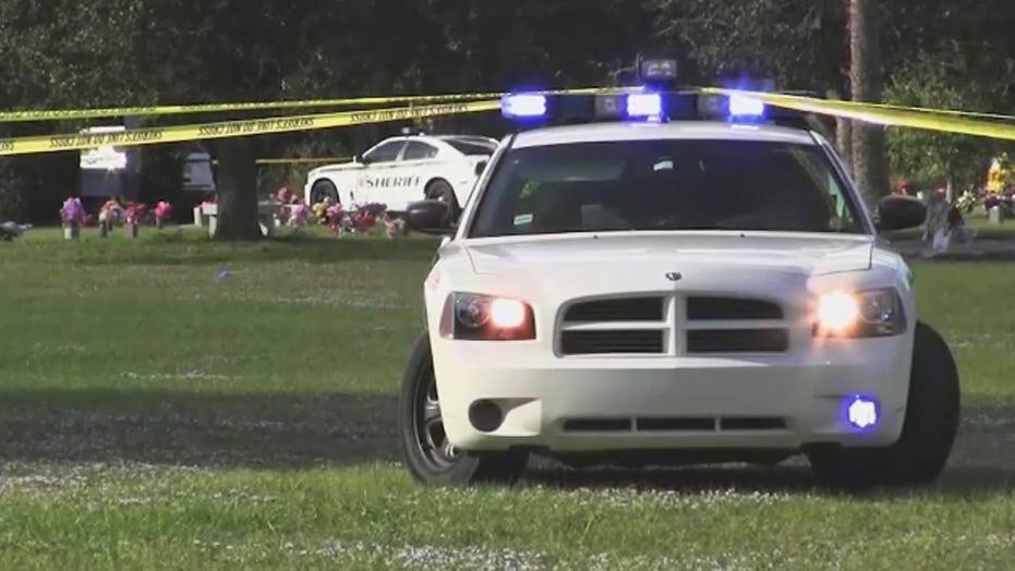 Mother of slain Florida teen shot at his burial service, officials say