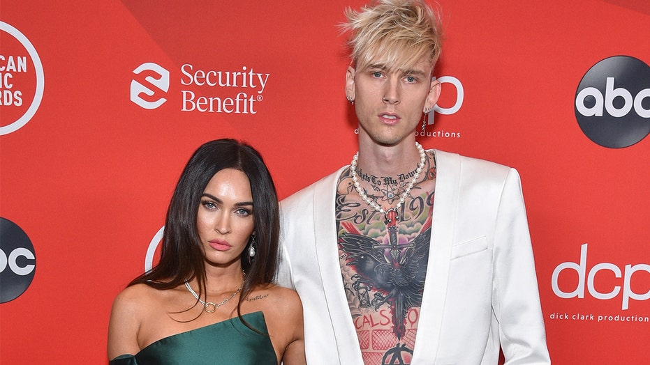 Megan Fox, Machine Gun Kelly make red carpet debut at 2020 AMAs