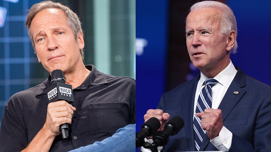 Former 'Dirty Jobs' host Mike Rowe on what he would tell President-elect Joe Biden today