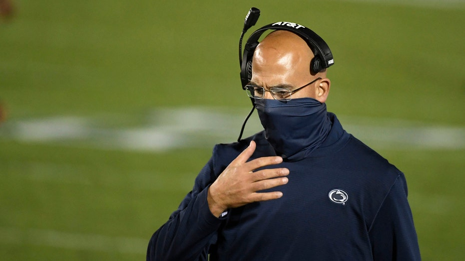 Penn State's James Franklin struggling being away from family during football season