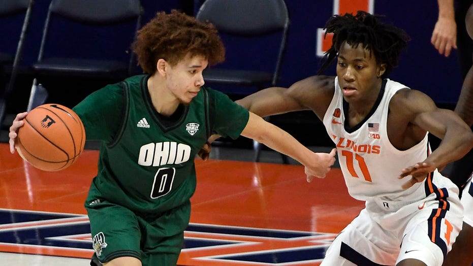 Ohio University point guard's backstory goes viral as he drops 31 points vs. 일리노이