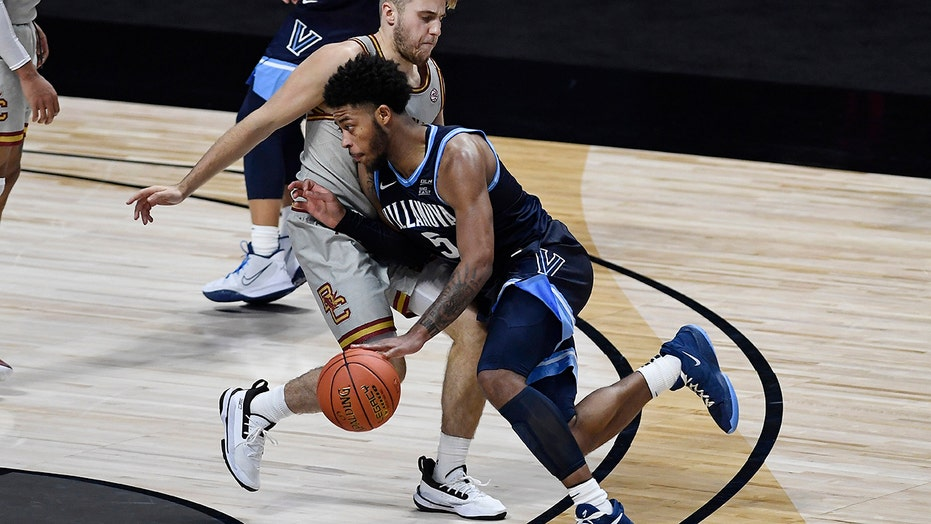 没有. 3 Villanova opens with 76-67 win over Boston College