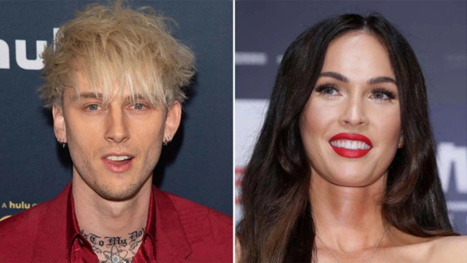 Megan Fox, Machine Gun Kelly spark engagement rumors after actress spotted wearing ring