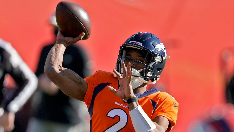 Broncos start wide receiver Kendall Hinton as quarterback after COVID crisis