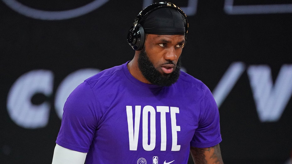 LeBron James happy with voter turnout in these major US cities