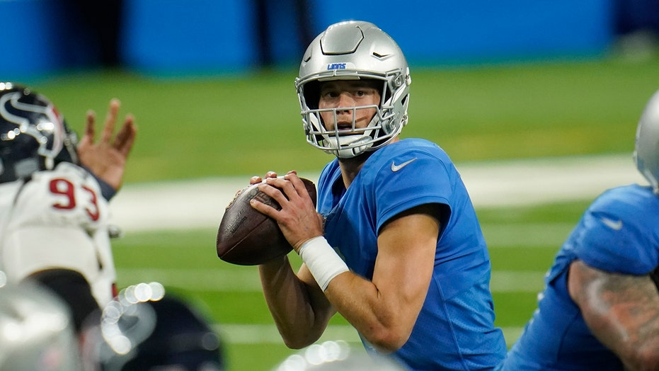Lions' Matthew Stafford brushes off question on Matt Patricia's future as head coach