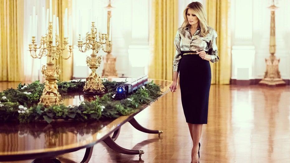 Melania Trump Unveils White House Christmas Decorations Theme For 2020 Fox News