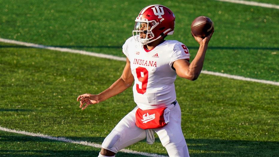 Penix throws 3 TD passes, No. 17 Indiana tops Rutgers 37-21