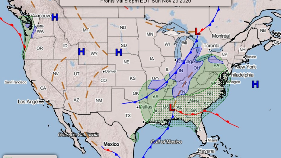Southeast braces for heavy rain, potential flash flooding
