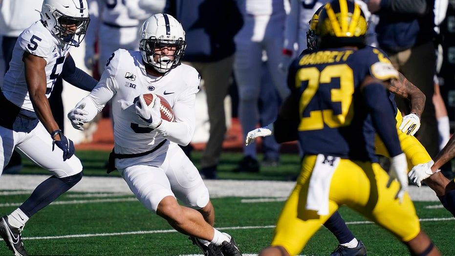 宾夕法尼亚州立大学击败密歇根州 27-17 为了第一场胜利