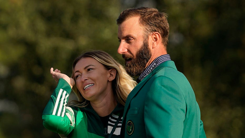Paulina Gretzky trends on social media after Dustin Johnson's Masters win