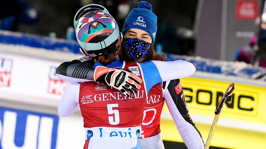 Vlhova wins 2nd slalom in 2 天, Shriffin finishes 5th