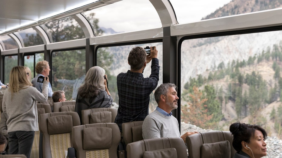 Glass-domed luxury train will travel through Southwest next summer