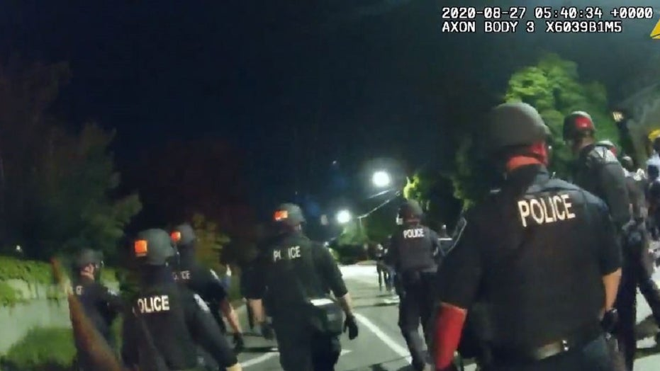 Seattle releases police body camera footage of clash with protesters