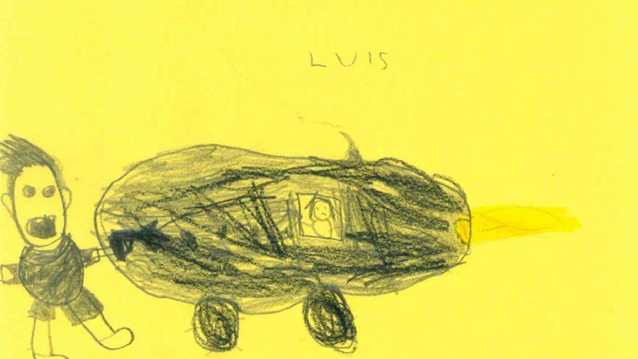 6-year-old German students sketch wanted hit-and-run driver for police