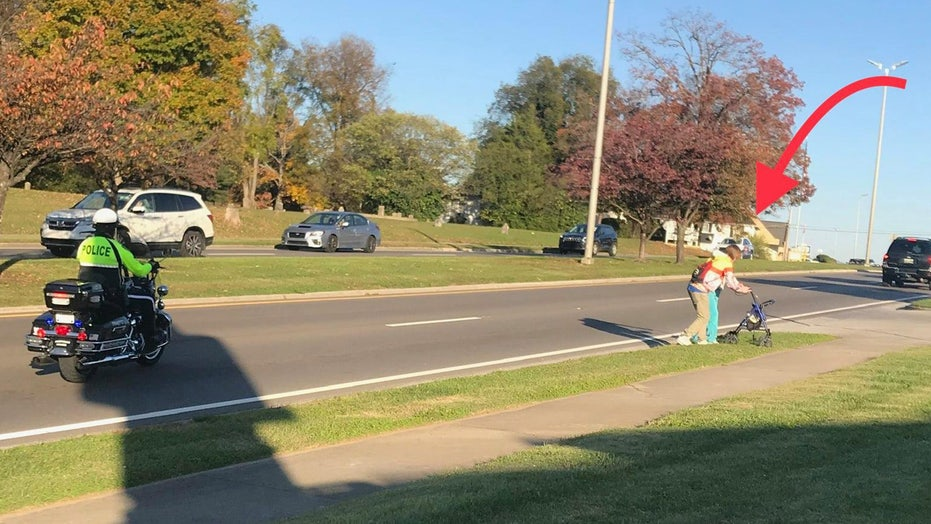 Tennessee high school student 'stepped up,' helps senior cross busy street