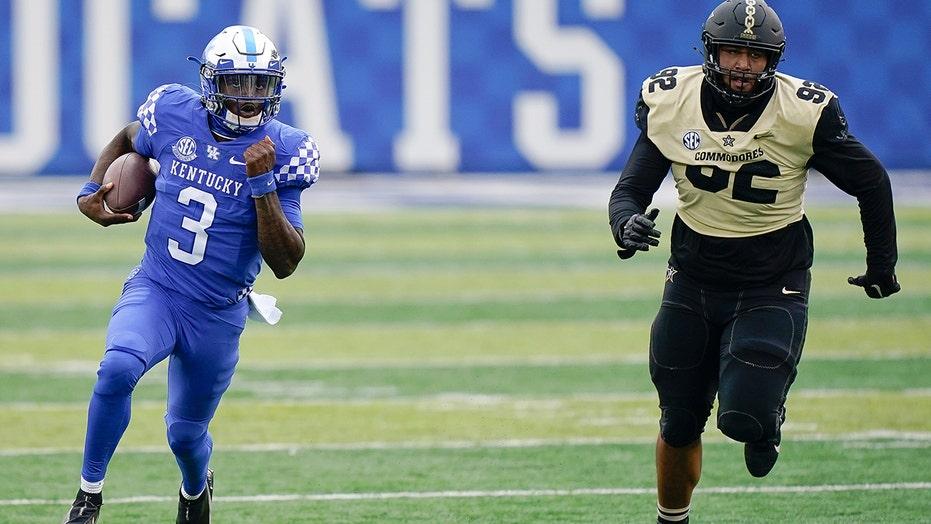 Wilson, Rodriguez help Kentucky survive Vanderbilt 38-35