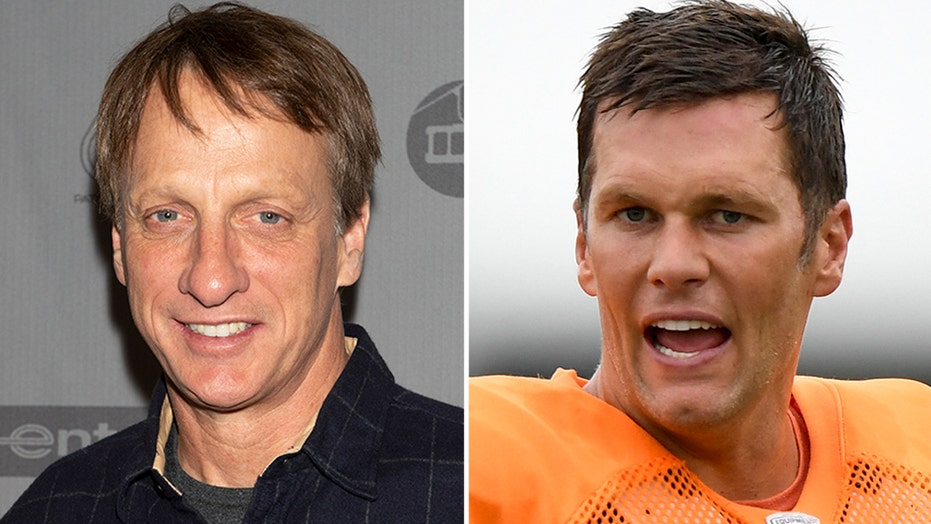 Tony Hawk talks cases of mistaken identity — even for Tom Brady