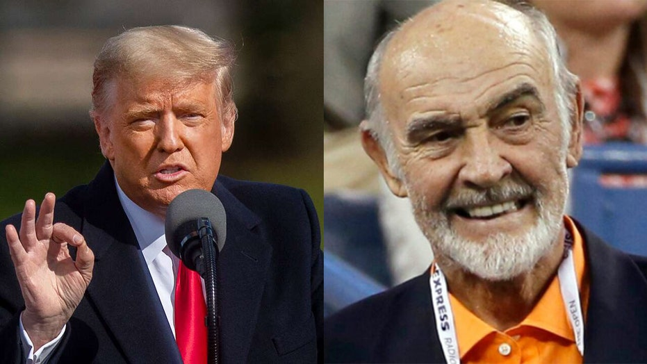 Trump says Sean Connery helped him obtain 'approvals for a big development in Scotland'