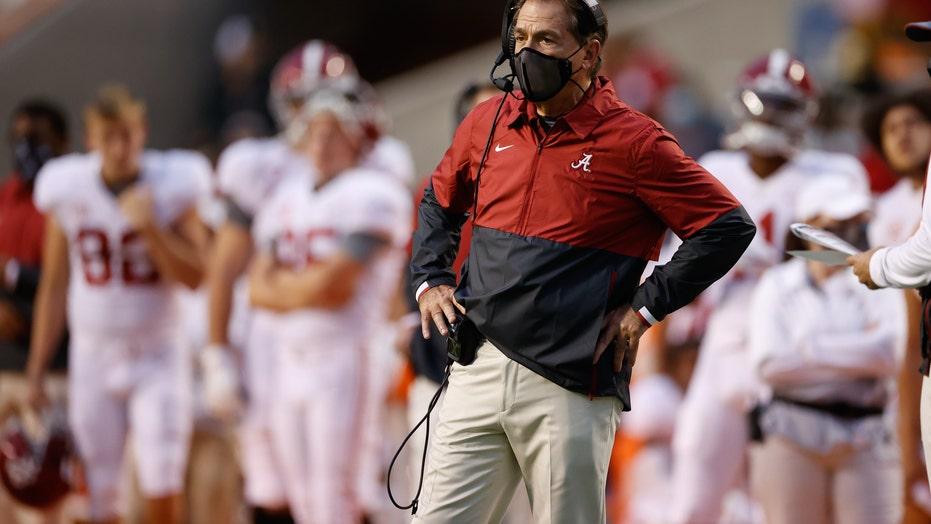 No. 1 Alabama-LSU, No. 5 Texas A&M-Tennessee postponed