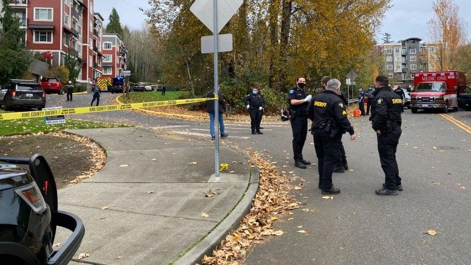 Two Seattle-area deputies shot, gunman killed