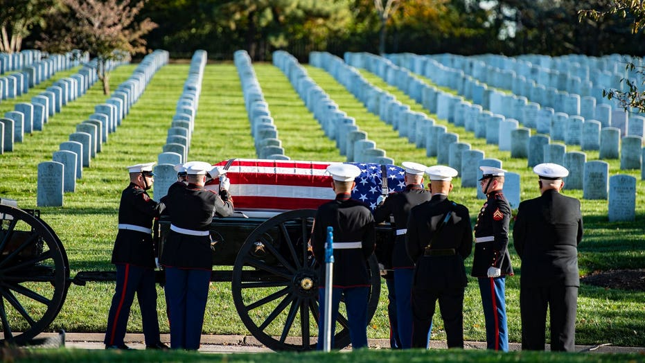 Vietnam War Marine awarded Medal of Honor finally buried at Arlington
