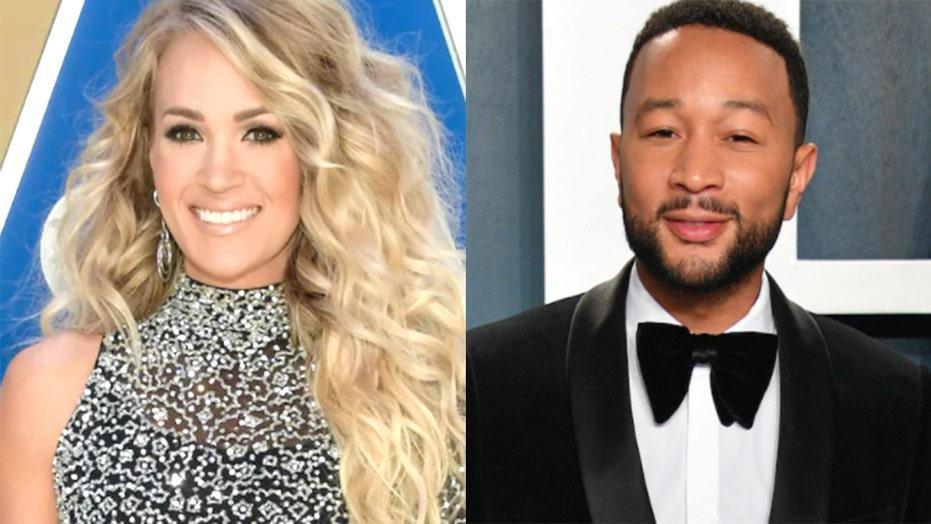 Carrie Underwood, John Legend debut 'Hallelujah' music video