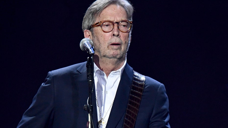 Eric Clapton slammed after past racially insensitive remarks surface amid release of anti-lockdown song
