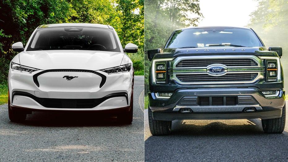 Ford Mustang Mach-E, F-150 denominato 2021 Green Car e Truck of the Year