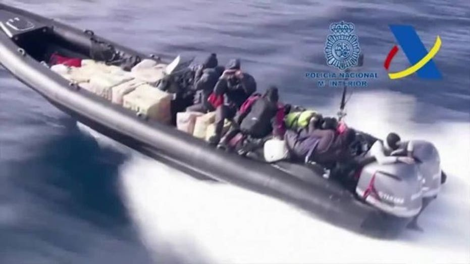 Spanish police make huge drug haul after high-speed boat chase