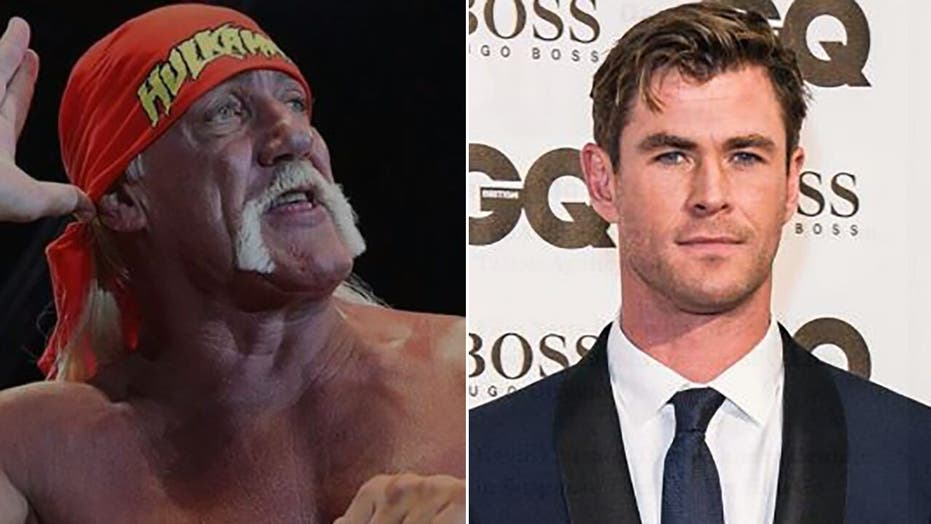 Hulk Hogan comments on Chris Hemsworth's recent workout pic, teases: 'Is he good looking enough to play me?'