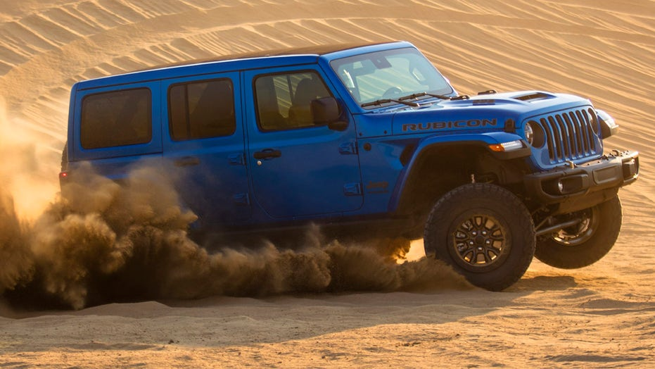 V8-powered Jeep Wrangler Rubicon 392 is the most powerful Wrangler ever