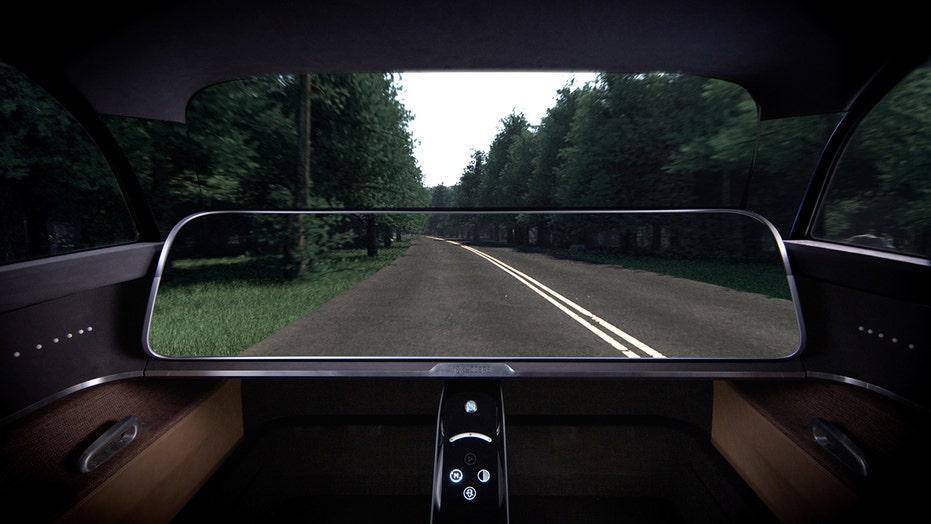 Kyocera has built a 'transparent' car