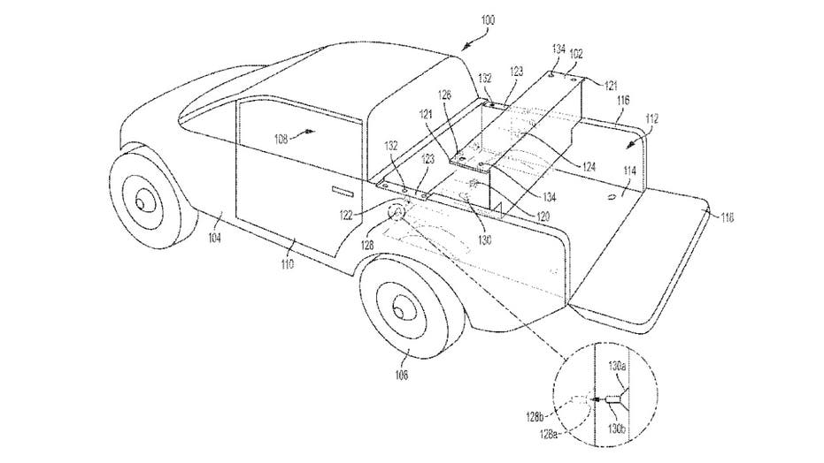 Patents reveal how Rivian and Ford might make electric pickups go farther