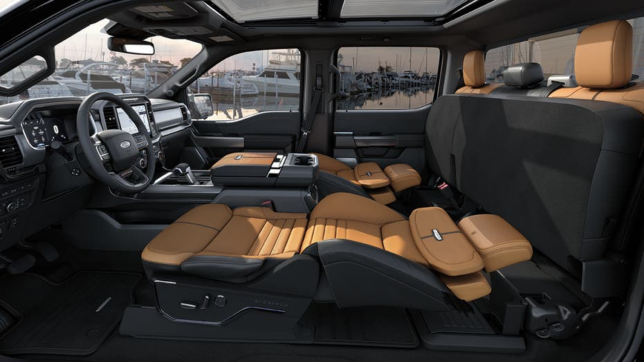 Ford F-150's Max Recline seats are a new kind of pickup bed