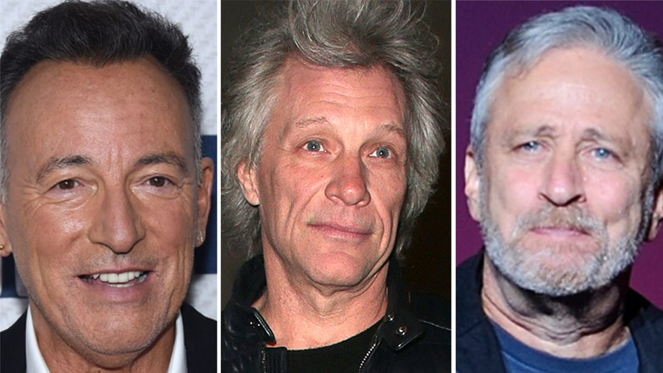 Bruce Springsteen, Jon Bon Jovi, Jon Stewart team up for coronavirus safety billboard: 'Wear a friggin' mask!'