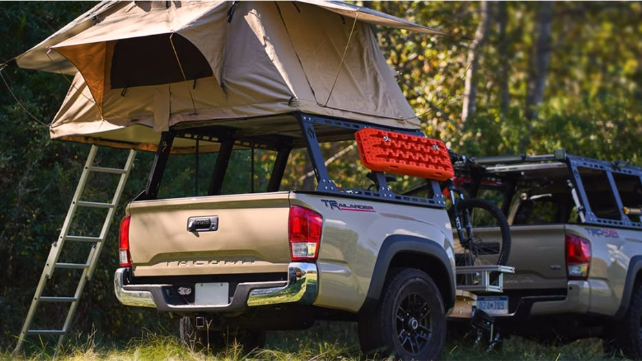 Seeing double: Toyota Tacoma trailer made from Tacoma bed
