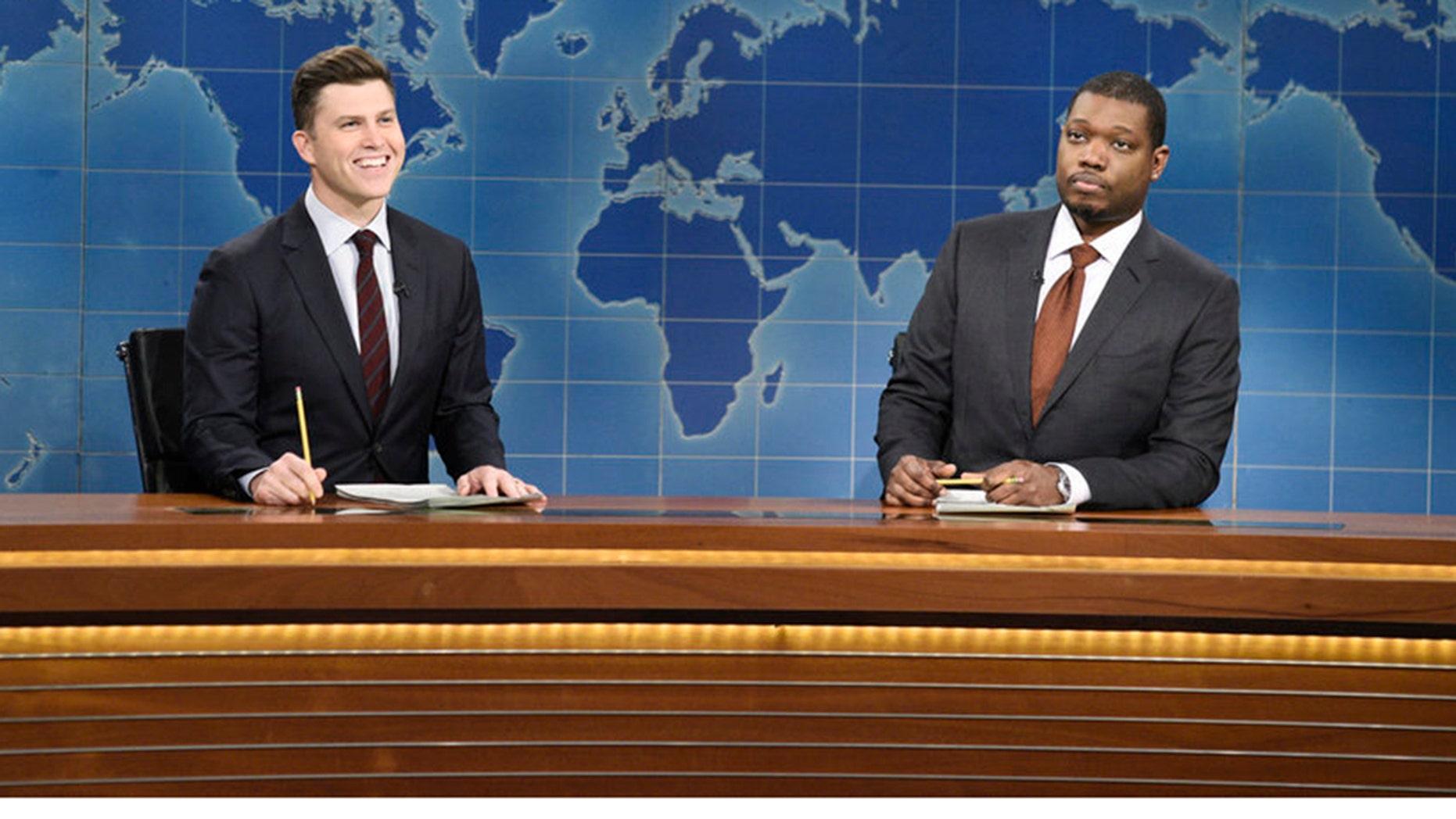 'SNL' takes rare jabs at Biden, liberals in 'Weekend Update' segment