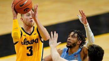 Bohannon scores 24, leads No. 3 Iowa past No. 16 UNC 93-80