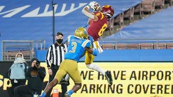 Slovis throws 5 touchdowns, No. 16 USC rallies to beat UCLA
