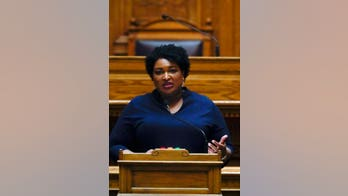 Stacey Abrams caught not wearing a mask inside Georgia Capitol