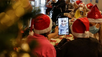 Santa's 'grandchildren' bring Christmas cheer to Italian nursing home