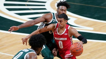Trice scores 29, No. 9 Wisconsin beats Michigan State 85-76
