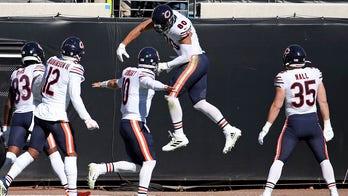 Jaguars fans cheer after Bears score touchdown in Jacksonville