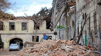 Earthquake aftershocks rattle Croatia, keep residents out of homes