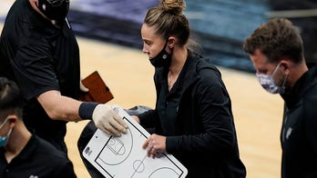 Becky Hammon becomes NBA's first female head coach after Spurs' Gregg Popovich ejected from game